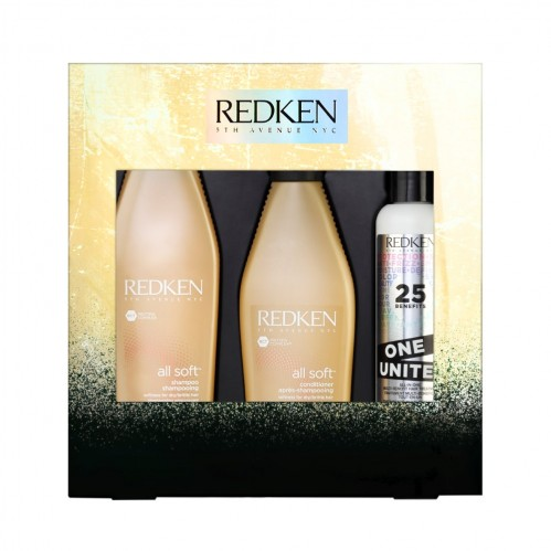 Christmas gifting Redken All Soft Giftset